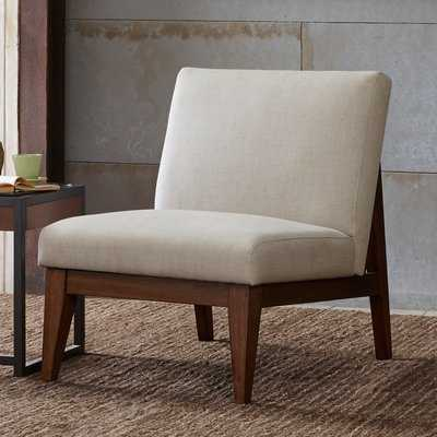 Emanuel Slant Back Slipper Chair - Wayfair