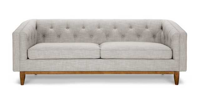 Alcott Rain Cloud Gray Sofa - Article