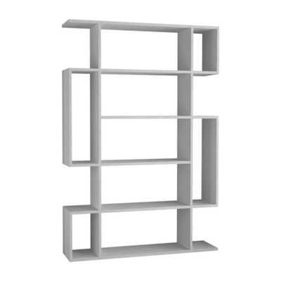 Ada Home Decor Blair White Mid-Century Modern Bookcase - Home Depot