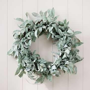 Faux Lychee Wreath - West Elm