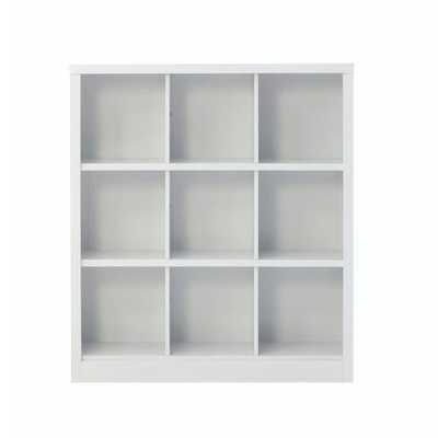 Lachlan 40.5 in. x 46 in. White 9-Cube Storage Organizer - Home Depot