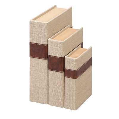 Eraman 3 Piece Book Box Set - Wayfair