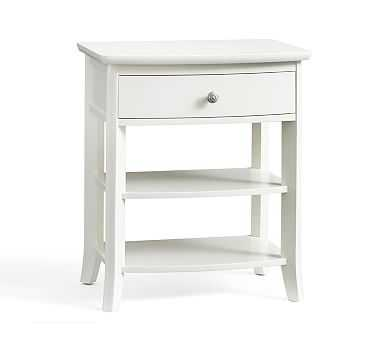 Chloe Nightstand, Antique White - Pottery Barn