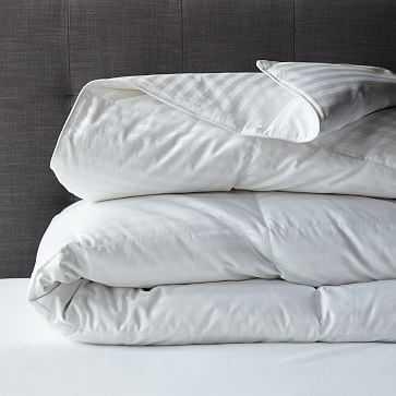 Premium White Down Duvet Cover Insert, Full/Queen - West Elm