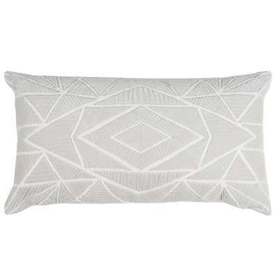 Hauge Cotton Lumbar Pillow - Wayfair