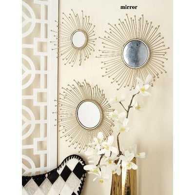 Mcphee 3 Piece Wall Mirror Set - Wayfair