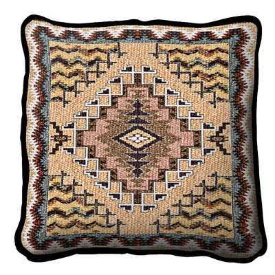 Witzel Southwest Butte Cotton Throw Pillow - Wayfair