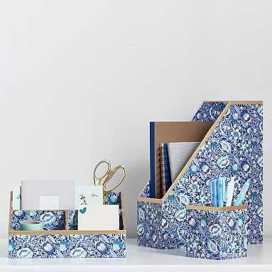 Liberty London Forest Road Desk Accessories, Set of 3 - Pottery Barn Teen