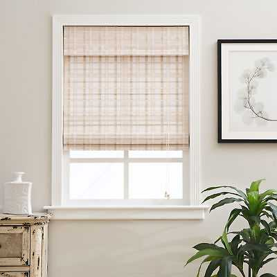 "Arlo Blinds Whitewash Bamboo Shade: 31""x 74"" - eBay"