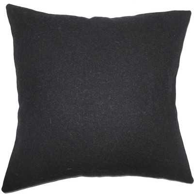 Quant Solid Wool Throw Pillow - AllModern