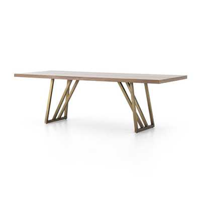 Madina Walnut Dining Table - Crate and Barrel