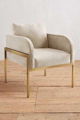 Velvet Ardmore Chair - Anthropologie