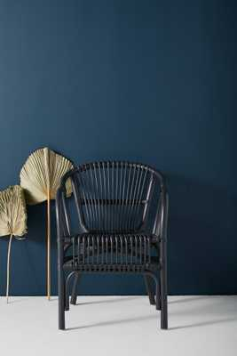Pari Rattan Chair in grey - Anthropologie