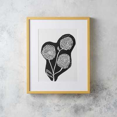 'Bouquet Linocut' Wall Art - AllModern