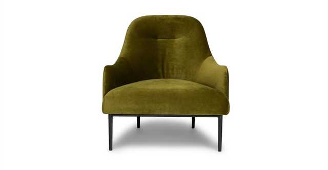 Embrace Moss Green Chair - Article