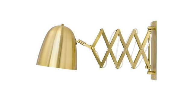 Cado Gold Sconce Lamp - Article