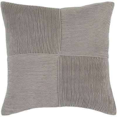 "Conrad, 20"" Pillow with Down Insert - Neva Home"
