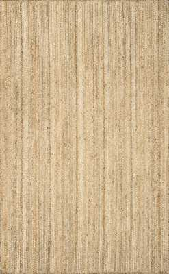 Maui Jute Braided JT03 Rug - Natural - 8' x 10' - With Rug Pad - Rugs USA
