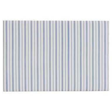 No Nails Dorm Pinboard, Blue Ticking Stripe, 24x36, Blue Ticking Stripe - Pottery Barn Teen