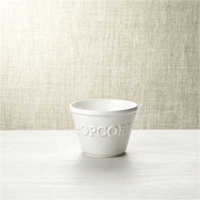 Small Popcorn Bowl - Crate and Barrel