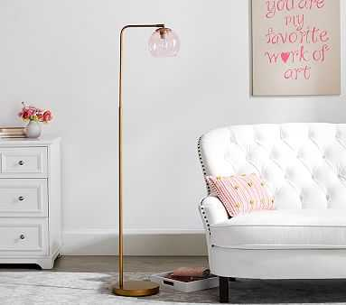 Arched Glass Globe Floor Lamp - Pottery Barn Kids