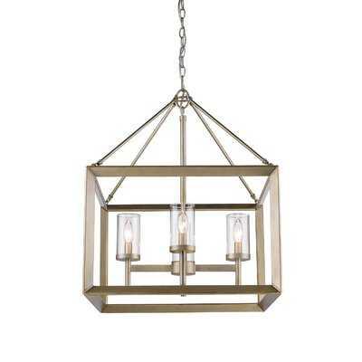 Thorne 4 - Light Lantern Square / Rectangle Pendant - AllModern