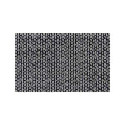 Annella Leaf Pattern Rug 9'x12' - Crate and Barrel