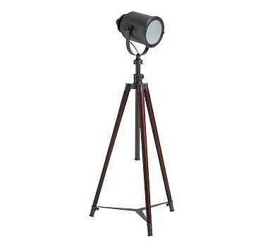 Photographer's Tripod Floor Lamp, Bronze Finish - Pottery Barn