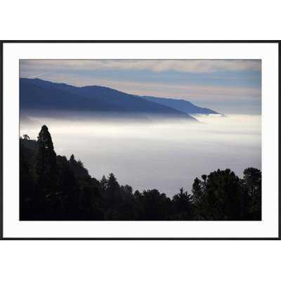 'USA, California. Coastal Big Sur from Pacific Coast Highway 1' Framed Photographic Print - Wayfair