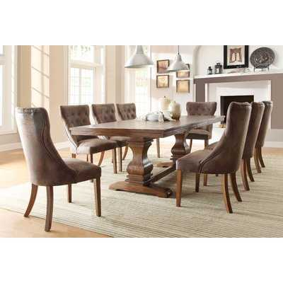 Parfondeval Upholstered Dining Chair (Set of 2) - Wayfair