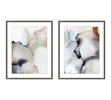 Between The Clouds Framed Paper Print, Set of 2 - Pottery Barn