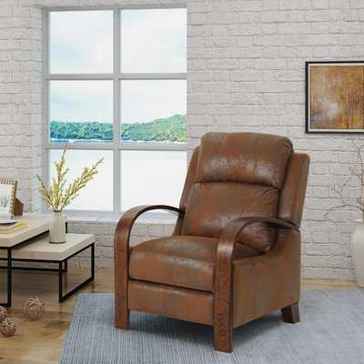 Blairs Traditional Exposed Manual Recliner - Wayfair