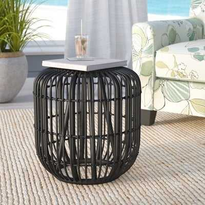 Adaline Solid Wood Accent Stool - AllModern