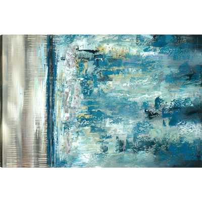 Abstrac Landscape, Abstract Art, Canvas Print Wall Art Decor 30X48 Ready to hang by ArtMaison.ca - Home Depot