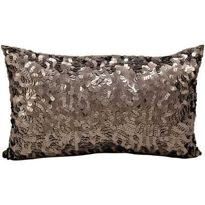 Sequin Silk Lumbar Pillow - AllModern