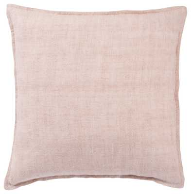 "Design (US) Light Pink 22""X22"" Pillow - Collective Weavers"