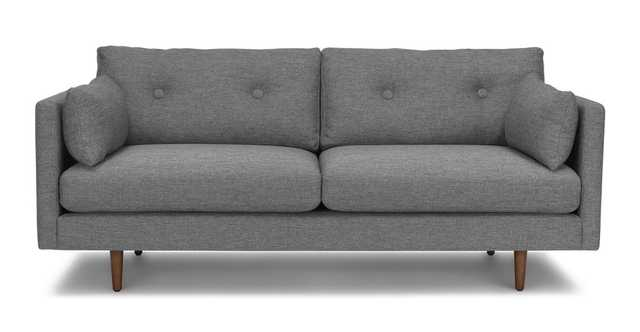 "Anton Gravel Gray 74"" Sofa - Article"