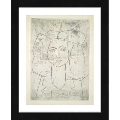 "'Portrait of Francoise, Dressed...' by Pablo Picasso - 16"" x 13"" - AllModern"