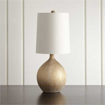 Vera Champagne Table Lamp, Set of 2 - Crate and Barrel
