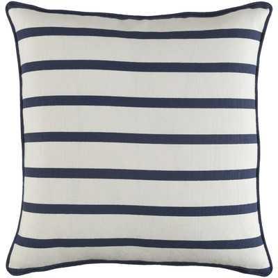 Carnell Contemporary Striped Cotton Throw Pillow - Wayfair