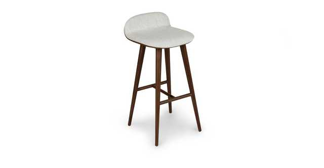 Sede Mist Gray Walnut Bar Stool- set of 2 - Article