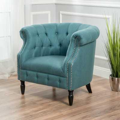 Bourbeau Chesterfield Chair - Wayfair
