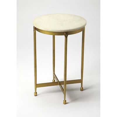 251 First Linden Gold End Table - 544999-2099887-251 - eBay
