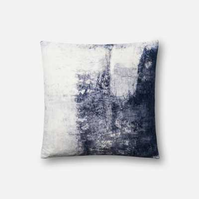 """PILLOWS - BLUE - 18"""" X 18"""" Cover Only - Loma Threads"""