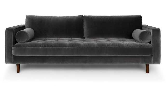 Sven Shadow Gray Sofa - Article