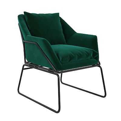 DHP Avery Armchair: Green - eBay