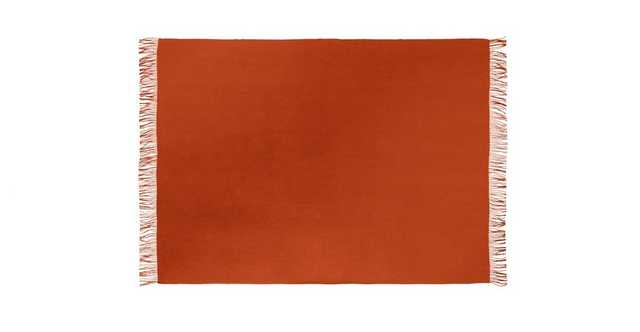 Mollo Fire Red Throw - Article