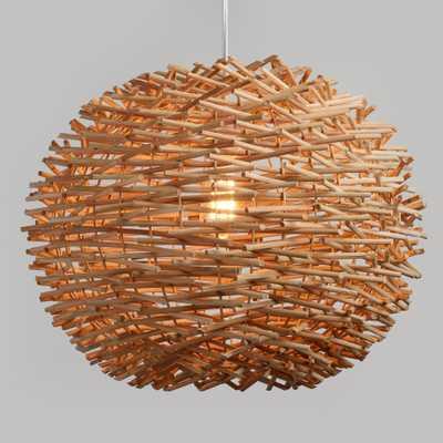 Wicker Nest Pendant Shade by World Market - World Market/Cost Plus