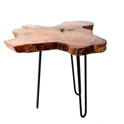 Mcmillan Wood Top End Table - Wayfair