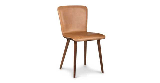 Sede Toscana Tan Walnut Dining Chair set of 2 - Article